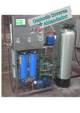 Osmosis Inversa  Sistema Ablandador.