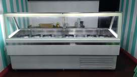 Congeladora Exhibidora de Cremoladas