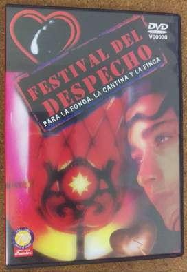 DVD Festival del Despecho