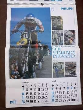 Almanaque año 1982  Philips