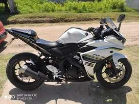 Vendo Yamaha R3 2017 inmaculada