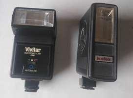 FLASH VIVITAR 2700 y  FLASH KAKO 928