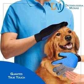 Guantes True Touch Mascotas Perros Gatos Cepillado