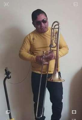 Vendo trombon marca holtons 600 dolares falamnte d paquete