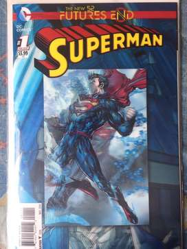 DC New 52 futures end Superman en ingles