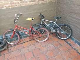 Combo 2 bicicletas rodado 20  para niños