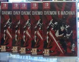 Daemon X Machina Nintendo Switch Nuevo Sellado Stock
