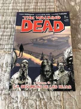 The walking dead- volumen 3, la seguridad tras las rejas