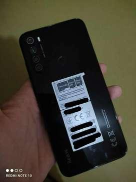 Xiaomi Redmi note 8 color Gris oscuro en caja