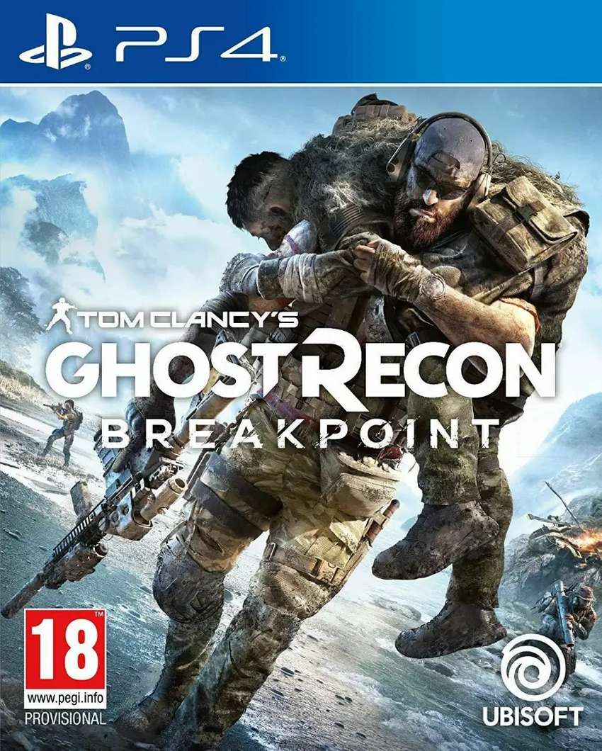 Tom Clancy Ghost recon breakpoint para PS4