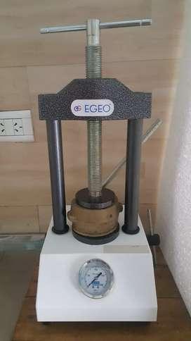 Prensa hidráulica con nanómetros EGEO para Protesista dental u odontologo