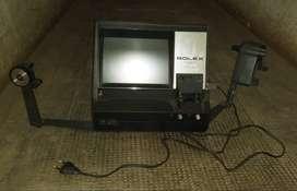 BOLEX 8 mm. EDITOR VIEWER. 110-220 V. LAMP 6 V 10 W. Antiguo Editor de Video. Funcionamiento A REVISAR.