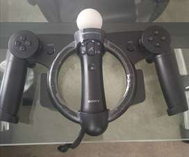 PLAYSTATION 4 RACING WHEEL PS4  MOVE