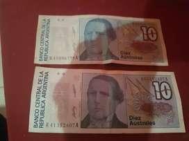 Billetes de australes