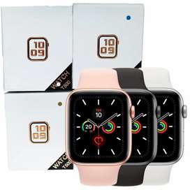 Reloj inteligente nuevos colores negro blanco y rosado
