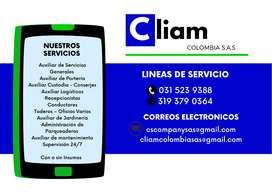 Servicios Profesionales de Servicios Generales (Aseo y Conserjeria)