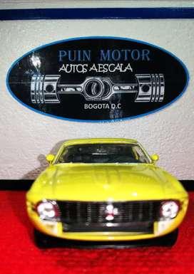 Ford Mustang - auto a escala