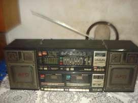 Radiograbador National Rx Cw200f Funcionando No Envio