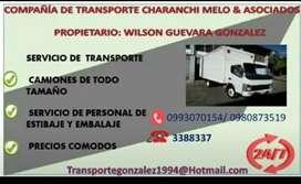 Transporte Gonzaléz fletes mudanzas