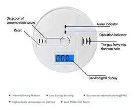 Detector Medidor Monoxido Carbono Mide Exacto Lo Respirado$