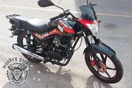 Motocicleta senda finiti 150