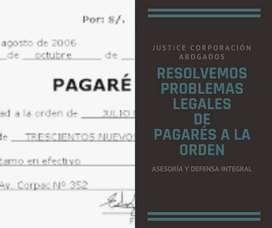 Abogados LOJA Justice Corp. RESOLVEMOS PROBLEMAS LEGALES DE PAGARÉS A LA ORDEN
