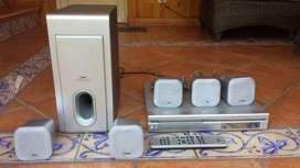 Vendo HOME THEATER LG 5.1