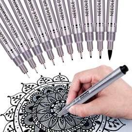 Bolígrafos de precisión de microlínea