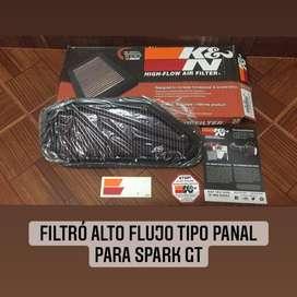 Filtro K&N tipo panal para spark gt