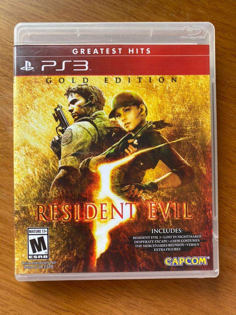Resident evil (Gold edition) PS3 0