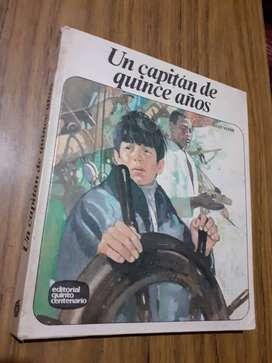 Un capitan de quince años quinto centenario Julio Verne