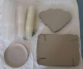 Descartables Liquido Vasos Platos Cajas