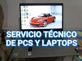 Servicio técnico pcs y Laptops Cajamarca a Domicilio