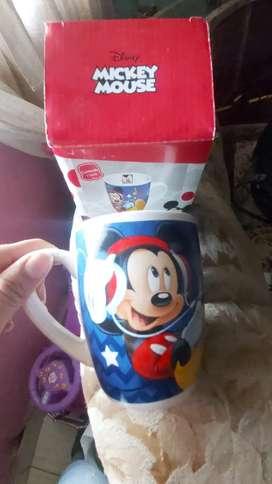 Vasitos de Minnie y Mickey