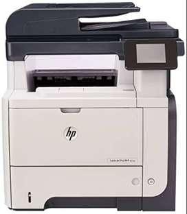 Impresora HP multifunción LaserJet Pro M521dn