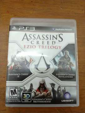 Assassin's creed Ezio trilogy play station 3