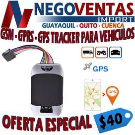 GMS, GPRS,GPS TRACKER PARA VEHÍCULOS PRECIO OFERTA  40,00