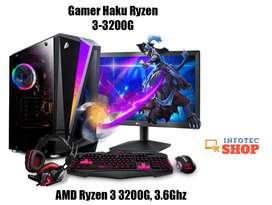 Gamer Haku Ryzen 3-3200G PC