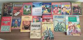 Vendo varios tipos de libros