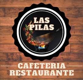 VENDO RESTAURANTE Y CAFETERÍA EN CENTRO COMERCIAL Y GYM LAS PILAS