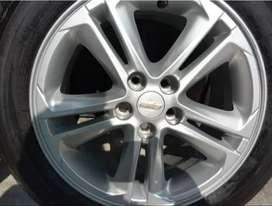 Juego de 4 Rines de 16'' 5/105 Chevrolet Cruze 1.4 Turbo