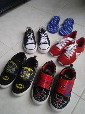Lote zapatos talla 28-29
