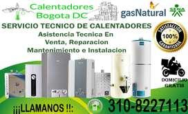 Servicio Técnico De Calentadores ,Reparación, Venta , Mantenimiento ,e Instalación . ¡¡Llame Hoy!1  Cel 3108227113