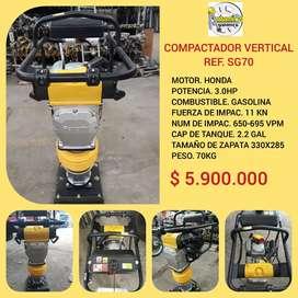 Compactador vertical