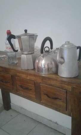 Líquido cafetera volturno pava y cafetera