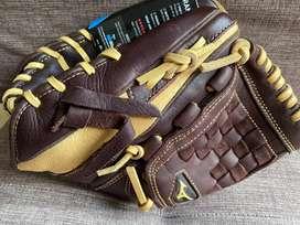 Guante zurdo misuno baseball original nuevo