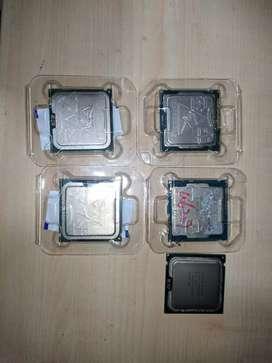 Vendo Procesadores i3 3240, i3 4130, i5 2500k, q8200, Xeon x5450 socket 775!