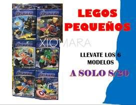 LEGOS PEQUEÑOS/LEGOS AVENGERS