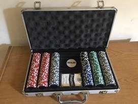 Juego de Poker completo con mantel