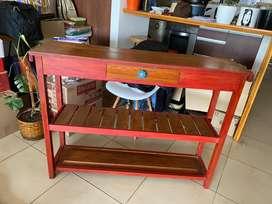 Mueble Recibidor Mesa de Arrime Vintage